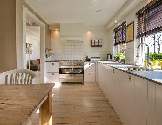 cocina de madera a medida