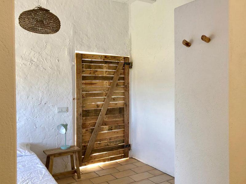 puerta madera recuperada reciclada