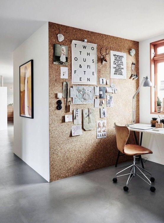 Oficina paredes decoradas Proinfus