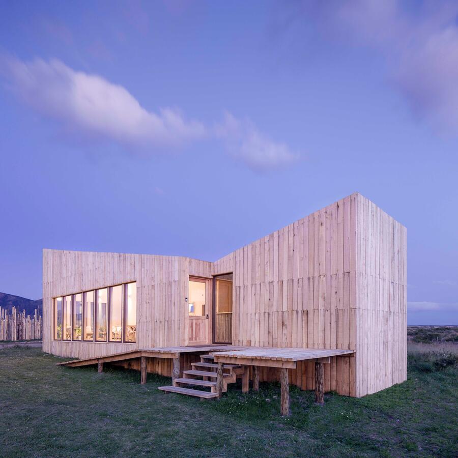 Hotel madera sostenible