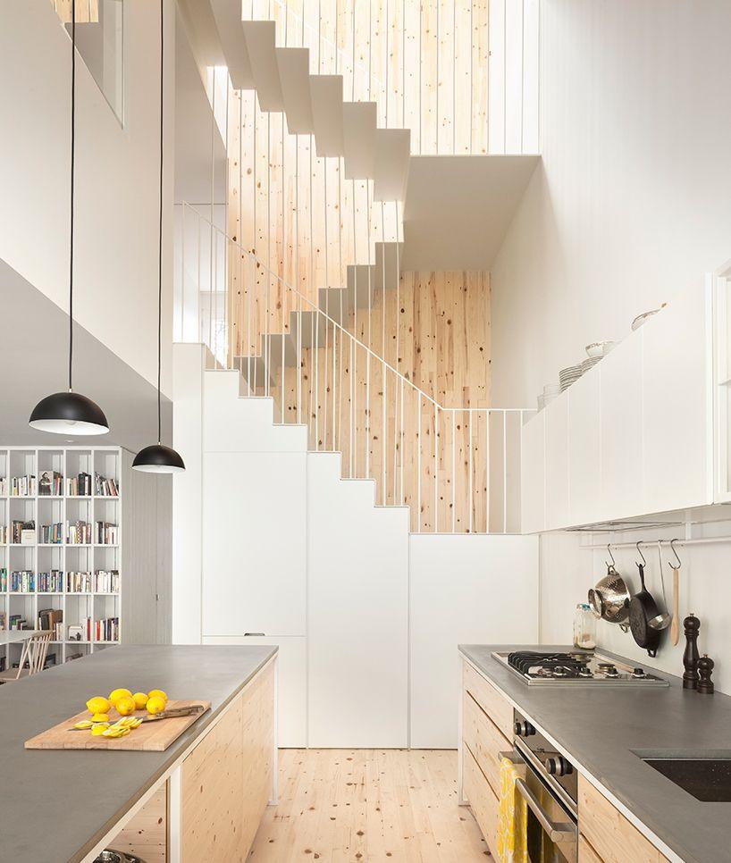Ejemplo de casa con madera de Abeto.