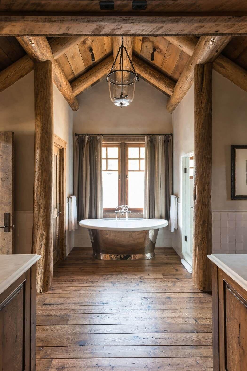 Ejemplo de baño con m. de Cedro.