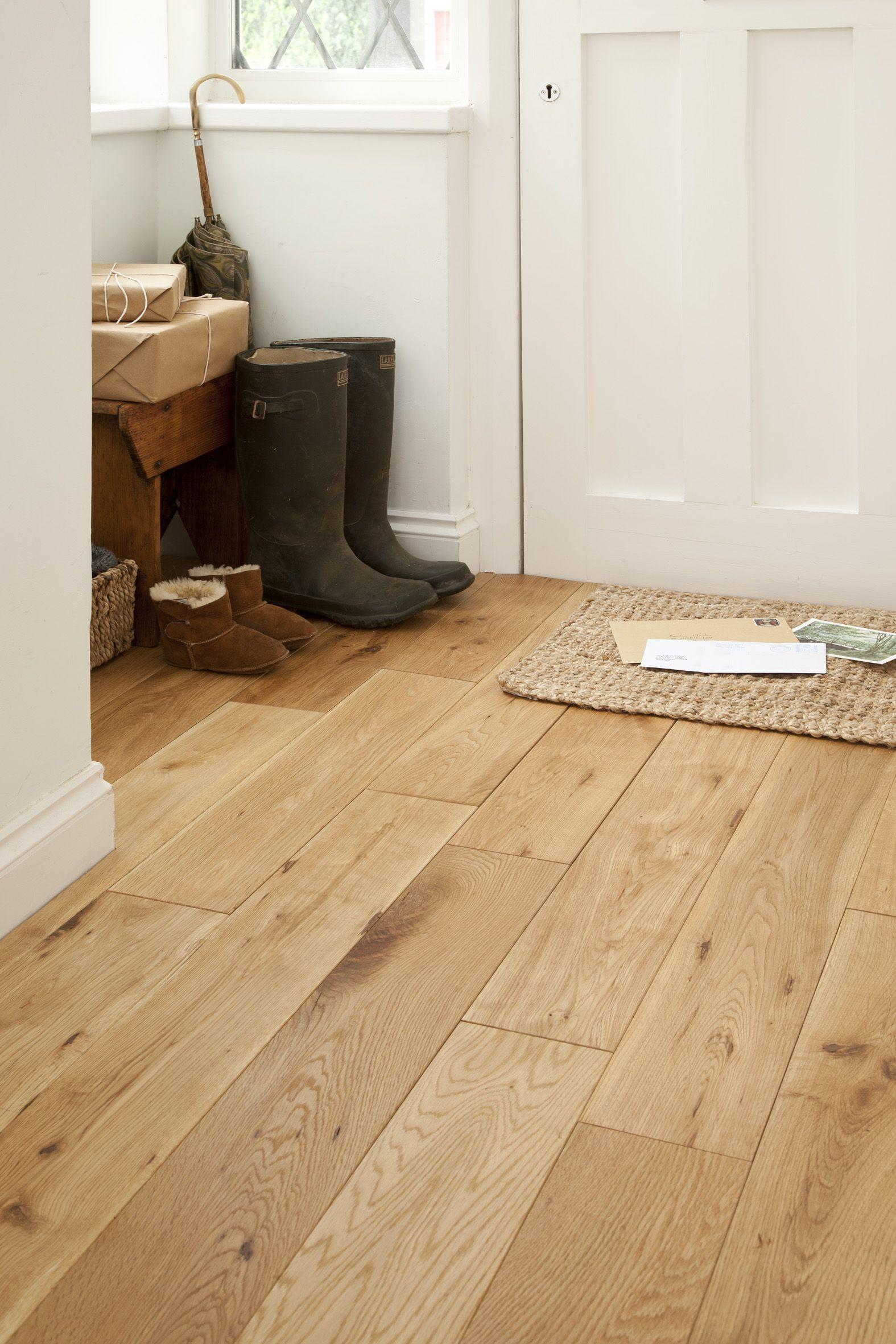 Ejemplo de suelo hecho con madera de Roble.