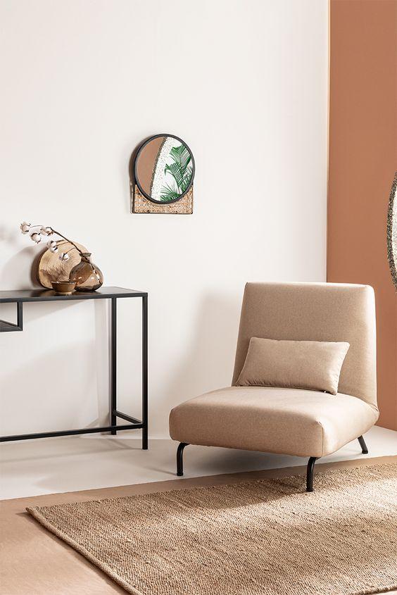 Ejemplo sobre el minimalismo en el estilo Japandi.