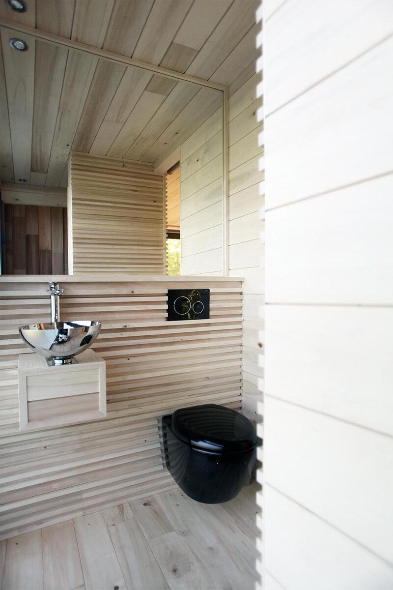 Baño cabaña ORIGIN