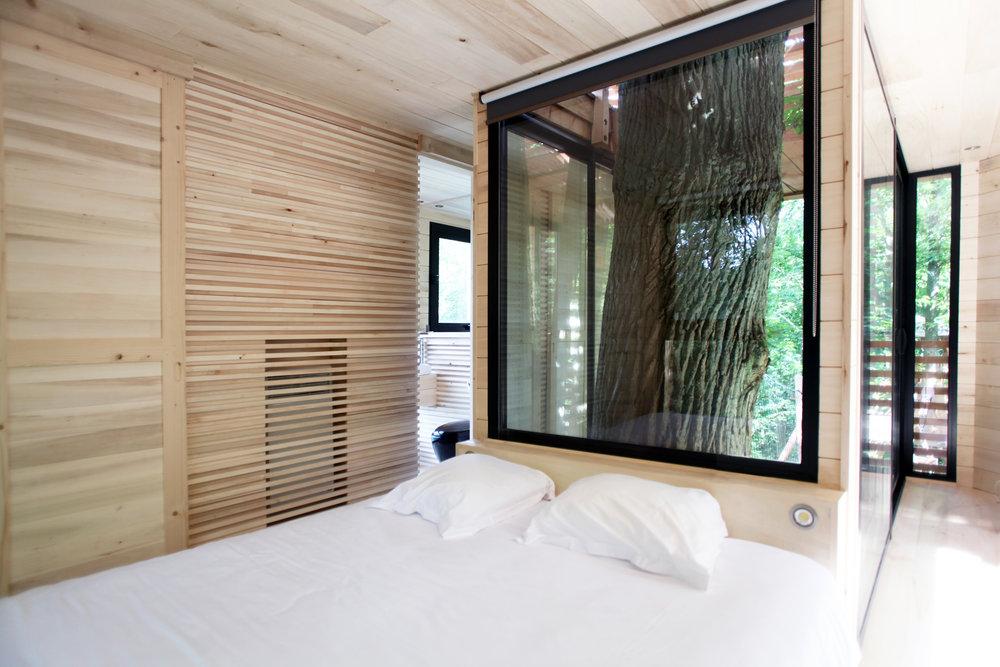 Dormitorio casa árbol ORIGIN